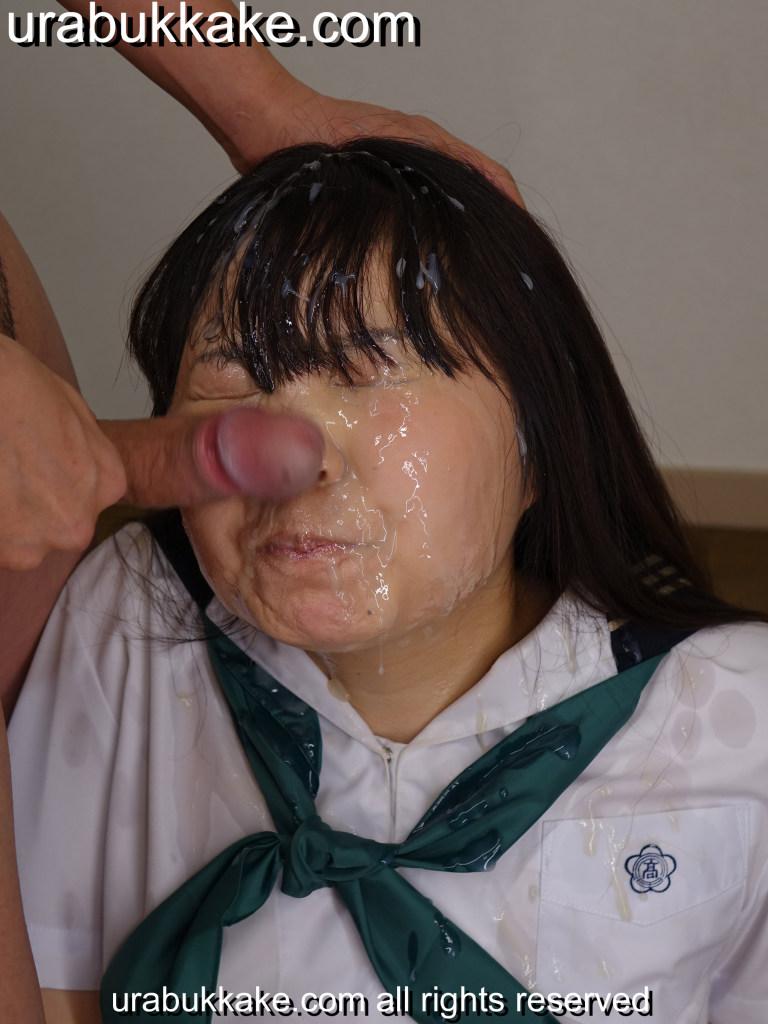 Cum facial in school uniform absolutely useless