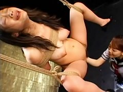 Hot Asian MILF Tomoda Maki see her tied and abused