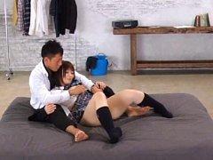 Hana Nonoka Asian with hot assets exposed has twat...