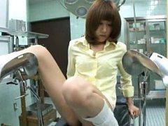 Japanese AV Model has boobs checked by doctor next...