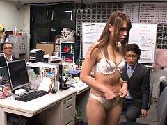Japanese AV Model is undressed