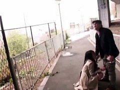 Nachi Kurosawa Asian pees on