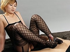 Tiny blond Kanna Otowa is the queen of tease and t...