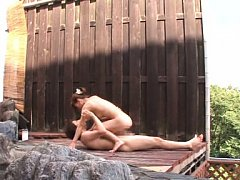Kaho Kasumi Asian naked is driven wild by hard coc...