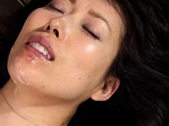Sorami Haga Asian with fine boobs is pushed in pus...