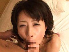 Eriko Miura Asian has nipples sucked and hairy poo...