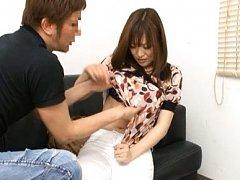 Reika Yoshizawa has juicy boobies revealed next to...