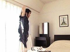 Marina Matsumoto Asian shows cans with dark nipple...