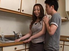 Aoi Aoyama Asian has boobs and vagina touched over...