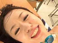 Kaede Niiyama Asian has big tits exposed while is...