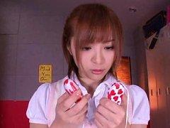 Yuu Namiki Asian tennis player exposes her assets...