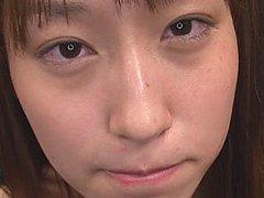 Mika Osawa blasted with cum at wild bukkake party