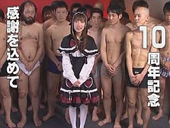 Gothic cosplay girl can not get enough semen