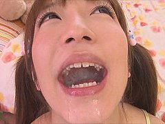Cutie pie hina kurumi takes over a hundred shots