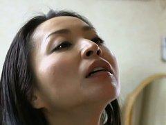 Japanese AV Model is kissed before doggy fuck and...