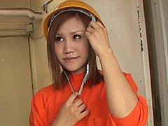 Real japanese amateurs get messy squirty semen fac...