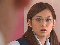 Miho Maeshima ejaculates her dads business partner...