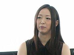 Japanese AV Model is driven crazy by man licking h...