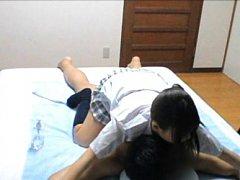 Shizuku Hasegawa in short skirt makes cock hard wi...