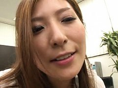 Mao Mizusawa Asian and dame play with balls and co...