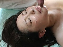 Japanese AV Model with hot and big tits rides tool...