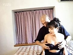 Rika Asian dame has titties sucked and peach touch...