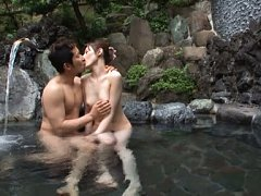 Babe Kanako Iioka relaxes after audition with her...