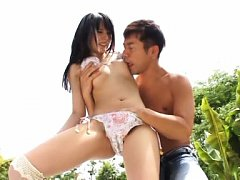 Hot Mihono Sakaguchi goes wild with her man taking...