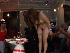 Shiori Kamisaki takes clothes off and shows everyt...