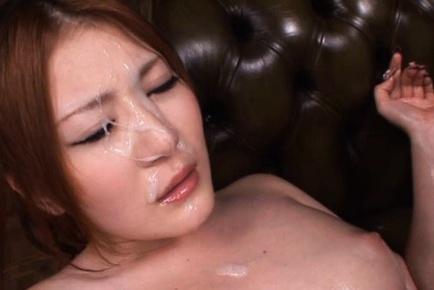 Momoka Nishina Asian with naughty oiled boobs gets...