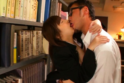 Mizuki Asian with immense jugs has nooky licked ov...