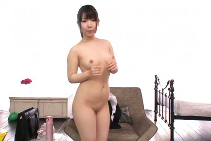 Kokoa Aisu Asian reveals nasty behind and juicy ti...