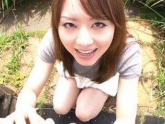 Akiho Yoshizawa Asian loves sucking and licking to...