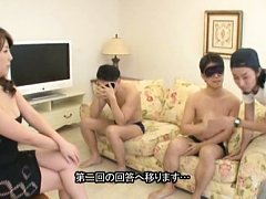 Misa Yuki Asian in sexy dress is fucked by guys we...