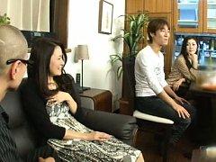 Japanese AV Model shows body in hot lingerie to pe...