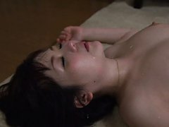 Shiori Sasaki Asian with round boobs has shaved be...