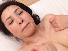 Yuuko Kuremachi Asian has huge boobs dirty of cum...