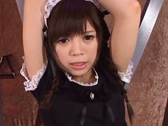 Rina Itou Asian house keeper has boobies teased wi...