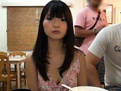 Ichigo Tominaga is undressed and has pussy fingere...