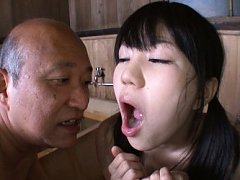 Marin Aono Asian shows cum she gets in mouth after...
