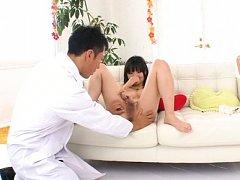 Ichigo Tominaga Asian has twat licked and nipples...