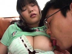 Japanese AV Model has big cans touched and nipples...