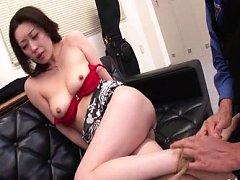 Sana Fujisaki Asian with nude cans has cunt rubbed...