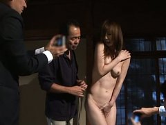 Reiko Sawamura Asian undresses and is caught on ca...