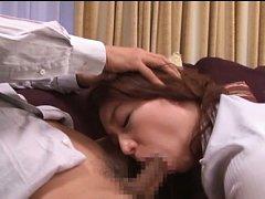 Midori Takashima Asian has big butt touched and bi...