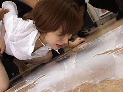 Aya Koizumi enema video expelling the liquid from...