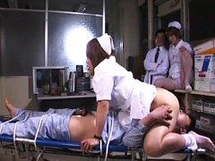 Riho Asakura licks and sucks a stiff cock and gets...