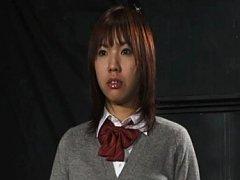 Riho Asakura likes it kinky and rough in her tight...