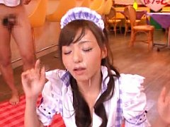 Aino Kishi Asian house keeper gets sperm on face f...