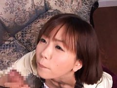 Saki Ninomiya Asian in tight skirt can offer such...